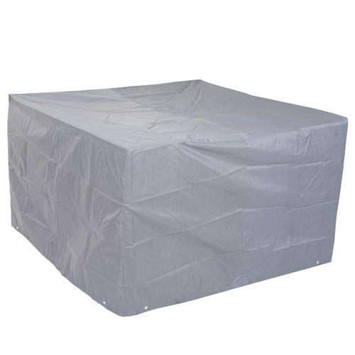 Housse de protection pour garniture de jardin, gaine de protection, gris ~ 75x120x120cm