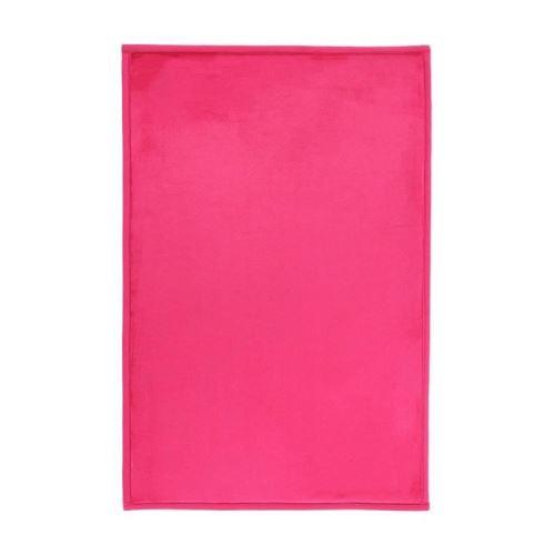 flanelle tapis 60x90 cm fuchsia