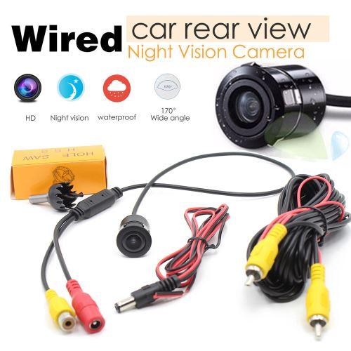Wired Retour en caméra de recul 170 ° Couleur Night Vision pour voiture camion ED 12V DC