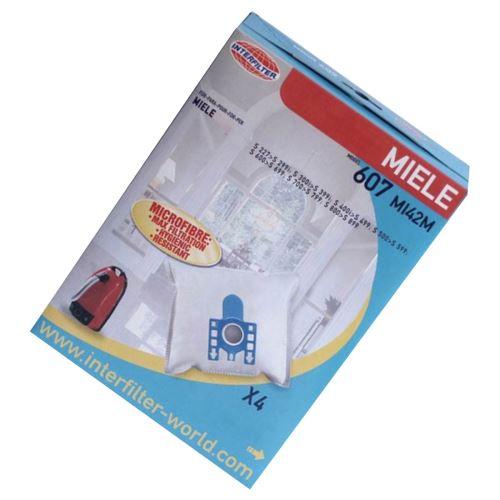 Boite de 4 sacs microfiltre