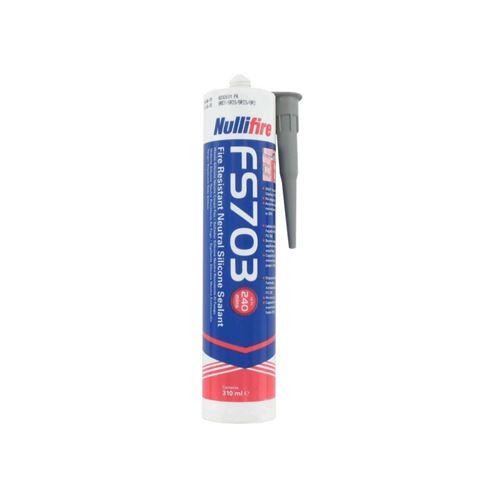 Mastic coupe feu FS703 NULLIFIRE gris 310ml