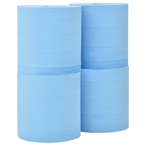 vidaXL Essuie-tout en papier 3 couches 4 rouleaux 26 cm