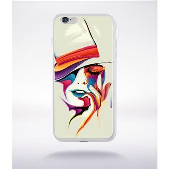 coque visage iphone 6