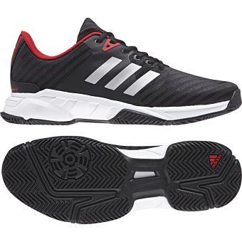 homme de barricade court tennis noire adidas chaussures PXiZOuk
