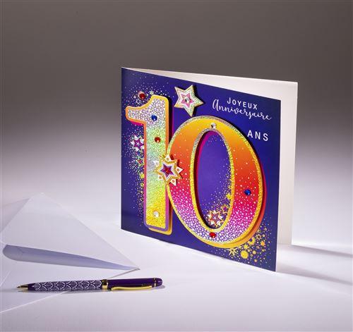 Carte double Coll'Âge- 10 ans