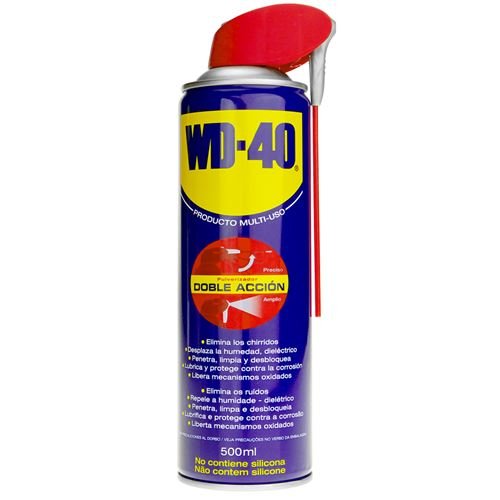 Spray lubrifiant polyvalent Double Action 500 ml