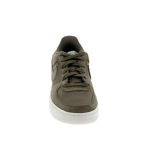 NIKE Air Force 1 Suede Jr Kaki 37.5 Enfant Chaussures et