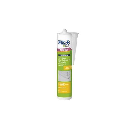 Mastic Acrylique Maçonnerie AC702 NEC+ blanc 310ml