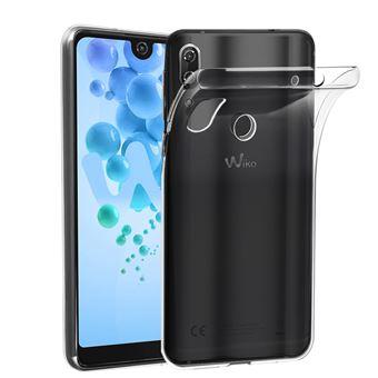 ebestStar - Coque Wiko View 2 Etui Housse Silicone TPU Souple Anti-Choc ULTRA FINE INVISIBLE, Transparent [Dimensions PRECISES Smartphone : 154.5 x 72 ...