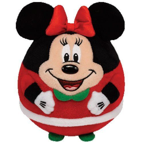 Ty Beanie Ballz Minnie - Souris Noël