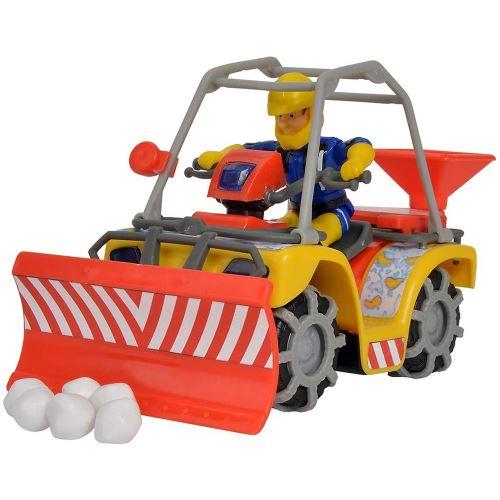 Simba Toys 109251049 - Sam Mercury Quad de Pompier avec Figurine