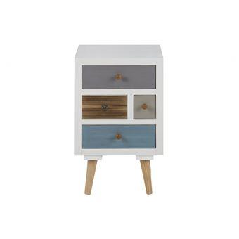Table 4 tiroirs THALIA de chevet OiPZkuTX