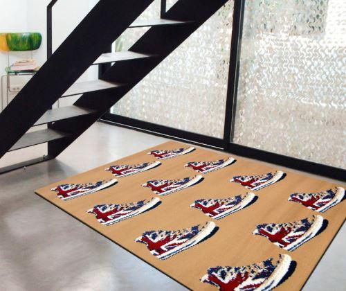 Tapis chambre ado avec basket anglaise - Achat & prix   fnac