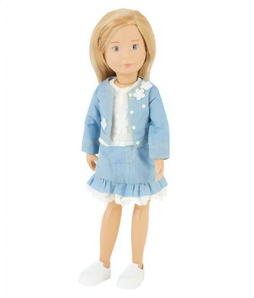 Käthe Kruse teenage dolls chic costume 23 cm