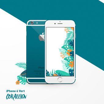 apple iphone 6 16 go 4 7 vert corallien reconditionn ou occasion smartphone achat prix. Black Bedroom Furniture Sets. Home Design Ideas