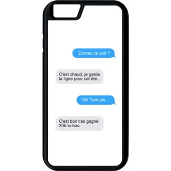 iphone 6 coque message