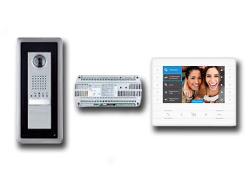 came bpt kit vidéo et audio mains libres luxo 001ck0018fr ck0018fr