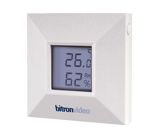 Bitron Home Temp.- et Luftfeuchtigkeitssensor innen/außen - avec Display, pour Telekom Smart Home