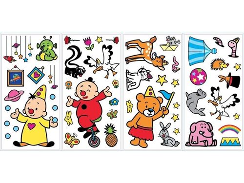 Studio 100 stickers muraux Bumba colocataires 52 stickers