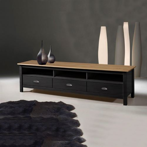 3 TiroirsAchatamp; Anthracite Meuble 144Sur Tv Betty PrixFnac TFlKJc1