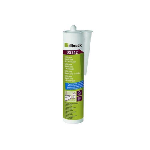 Mastic Silicone sanitaire SL241 NEC+ transparent 310ml