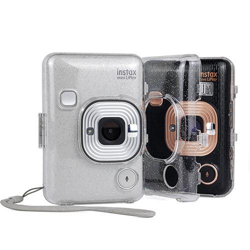 Étui de protection antichoc transparent brillant pour Fujifilm Instax Mini Liplay