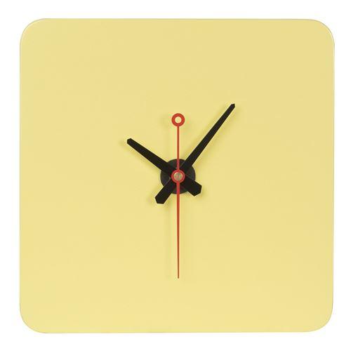Horloge Ignass Jaune Citron