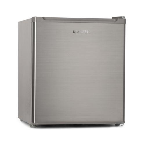 Klarstein Garfield Eco Congélateur compact 4 étoiles 34 litres - 41dB Classe énergétique E - Inox argent