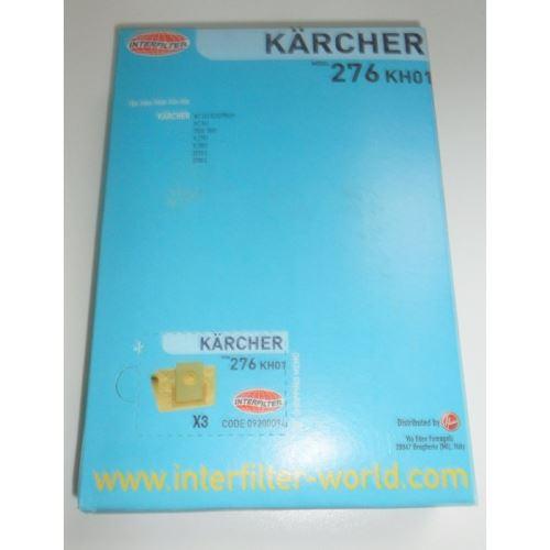 Sacs x3 pour aspirateur karcher - 8690717