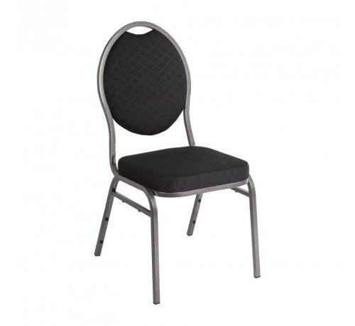 Chaise de banquet dossier ovale