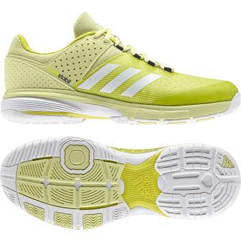 best service eceee de03e Chaussures femme adidas Court Stabil Jaune - Chaussures et chaussons de  sport - Achat   prix   fnac