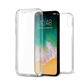coque iphone xs transparente integrale