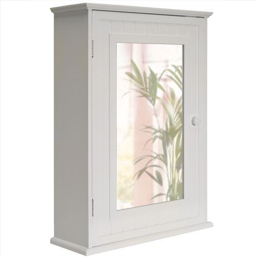 Watsons - TALLULA - Armoire murale miroir salle de bain blanc