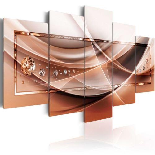 Tableau - Stream of Blaze .Taille : 100x50