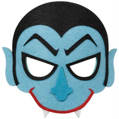 Amscan masque vampire en feutre bleu taille unique