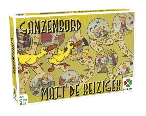 Selecta party Game Jeux de l'époque : Matt le voyageur / Goose Board
