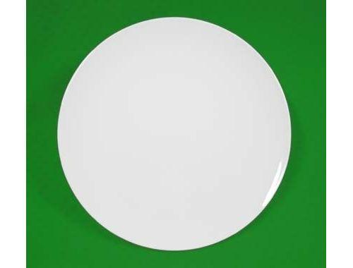 Plat à tarte 29 cm porcelaine blanche 6881