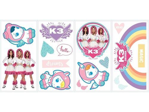 Studio 100 stickers muraux K3 dream 16 stickers