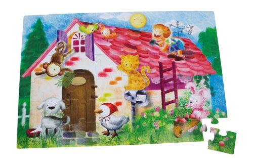 Puzzle Géant «Vie Rurale»