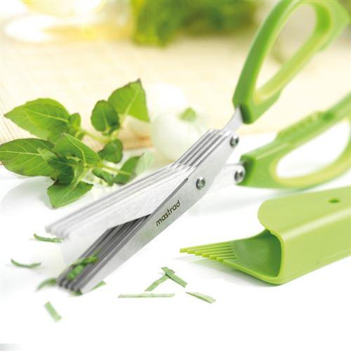 Mastrad - Ciseaux à Herbes - 5 Lames -