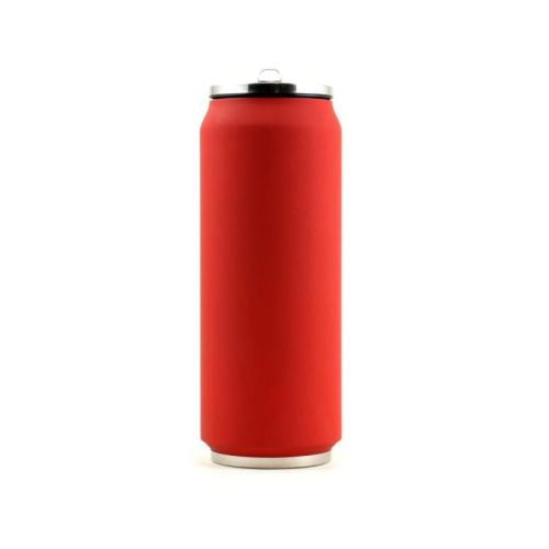 Yoko Design - Canette Isotherme 500ml Rouge Soft touch