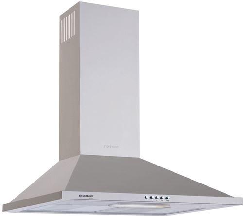 Hotte Décorative 632m³/h Silver 60cm A, H 10060 015