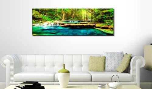 120x40 Tableau Forêt Paysages Joli A Jewel of Nature