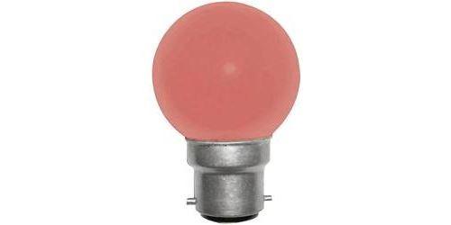 Ampoule de rechange pour guirlande lumineuse LED 180275-LE5510R B22 230 V 1 W rouge 1 pc(s)