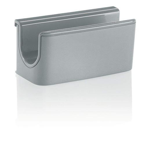 Sigel GL810 Porte-marqueur gris clair pour tableaux magnétiques en verre