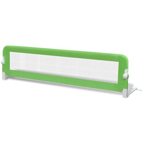 vidaXL Barrières de lit pour enfants 150 x 42 cm Vert