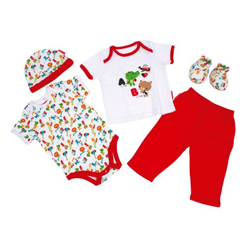 Ensemble cadeau Fisher Price Clothing, 5dlg.