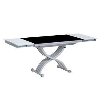 taille 40 1e5a4 cec8f CapsullDesign - Table relevable créative - noir