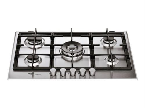 Whirlpool iXelium GMR 7522/IXL - Table de cuisson au gaz - 5 plaques de cuisson - Niche - largeur : 56 cm - profondeur : 48 cm - acier inoxydable
