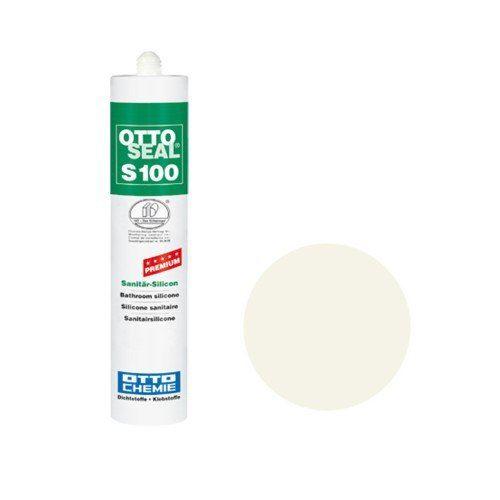 OTTO CHEMIE OTTOSEAL S100 (C51) interne vieux Mastic en Silicone Blanc